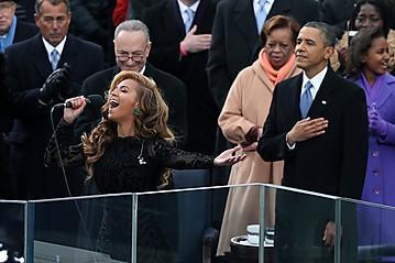 Beyonce Lip Synching