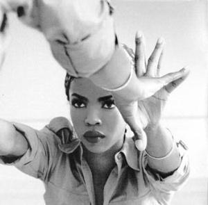 Lauryn Hill reflecting