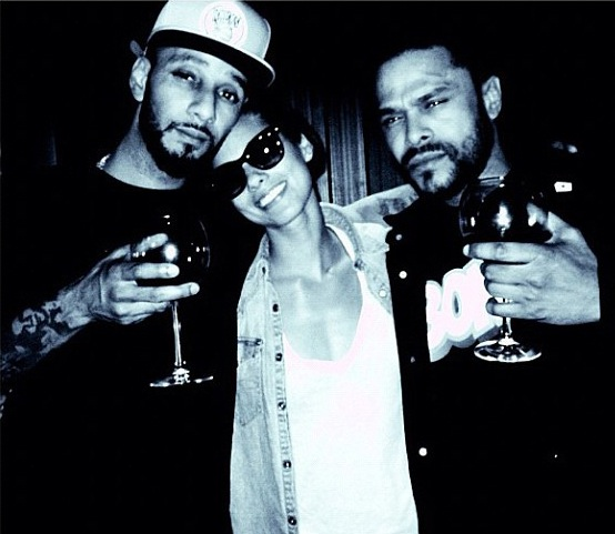 Alicia Keys, Maxwell, and Keys husband Swizz Beatz celebrate slow burning soul duets!