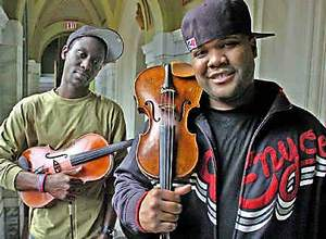 Will B and Kev Marcus of Black Violin