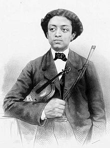Afro-Cuban violinist