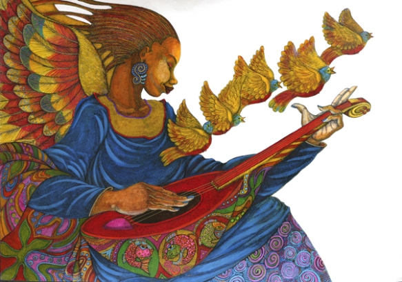 Music Angel 2 by Charles Bibbs