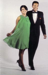 Tammi Terrell with Gaye