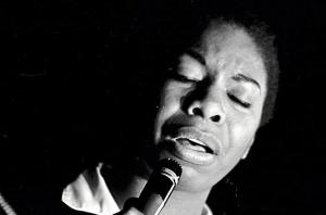 Nina Simone sings! (photo by Robert Abbot Sengstacke)